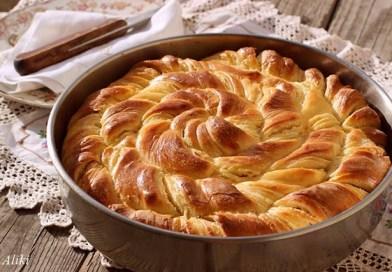 Συνταγή Ημέρας: Στριφτή πίτα με φέτα