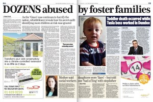 One of two whistleblowers who made protected disclosure about abuse allegations at a South East foster home also revealed how much of his whistleblowing was ignored by HSE bosses.   RESULT: Garda investigation launched and Statutory Commission of Inquiry to be established.