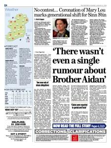 Irish Mail on Sunday - January 21, 2018. - Page 2.