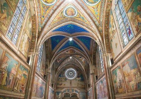 Базилика Св.Франциска Ассизского. Интерьер
