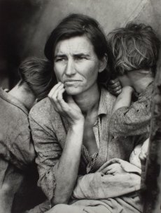 Dorothea Lange . Migrant Mother 1936.