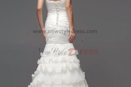 2014 new style mermaid wedding dresses