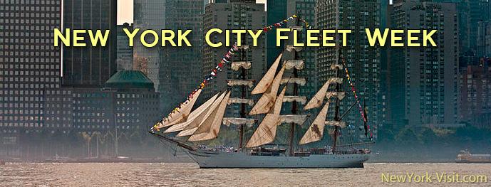 New York City Fleet Week 2015 Memorial Day Weekend
