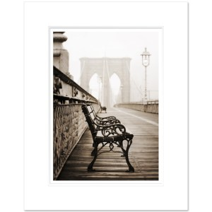 Brooklyn Bridge Bench Vertical BBNS003 MW1620