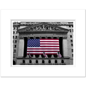 Stock Exchange New York Art Print BW SEBC001 MW1620