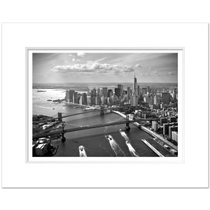 BMB1140-Manhattan-Bridge-Brooklyn-Bridge-Lower-Manhattan-Freedom-Tower-NYC-Art-Print-BW-Alex-Basansky-MW1620