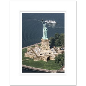 LIBC901-Statue-of-Liberty-Aerial-view-NYC-Art-Print-Color-MW1620