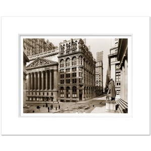 SESV021-New-York-Stock-Exchange-Finacial-District-Wall-Street-NYC-1921-Vintage-Art-Print-Sepia-MW1620