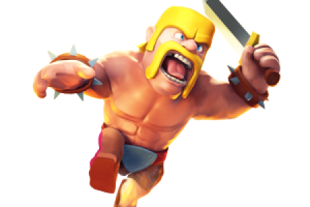 supercell clash of clans barb