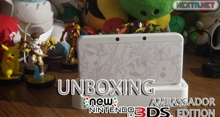 1501-20 Unboxing New 3DS Ed Embajador