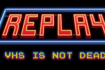 1511-12  Replay - VHS is not dead LOGO