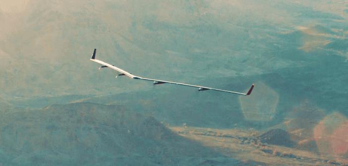 เครื่องบินไร้คนขับ Aquila ทดสอบบินครั้งแรกเพื่อภารกิจเชื่อมต่อผู้ใช้งานอินเทอร์เน็ต 4,000 ล้านคน
