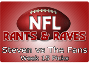 Week 15 Picks