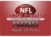 Week 10 Picks