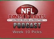 Week 10 Picks