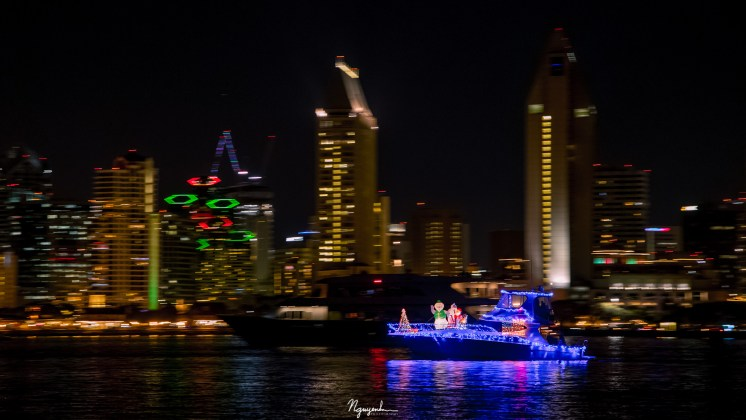 San Diego Festival of Lights in San Diego Bay