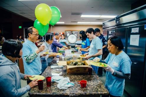 2016 02 05 Cook-a-meal at Ronald McDonald House