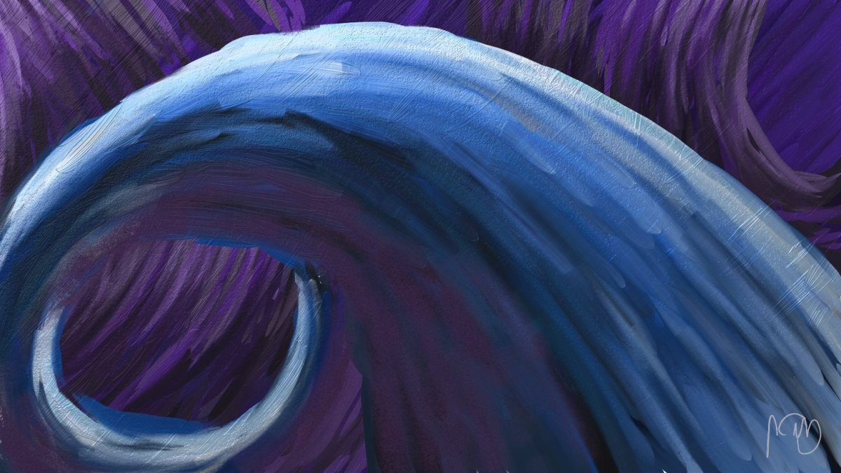 Purple Tube - An ArtRage 4 Painting