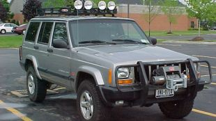 Project Cherokee with OME lift kit.