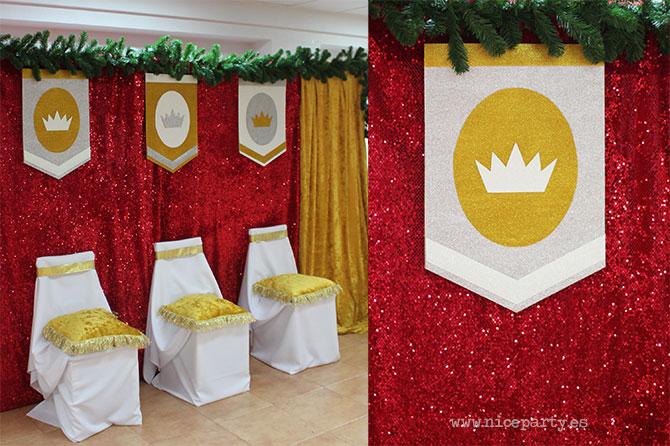 Decoraci n infantil la fiesta de los reyes magos niceparty for Decoracion para reyes