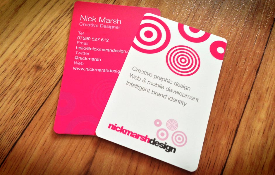 Nick Marsh Business Cards