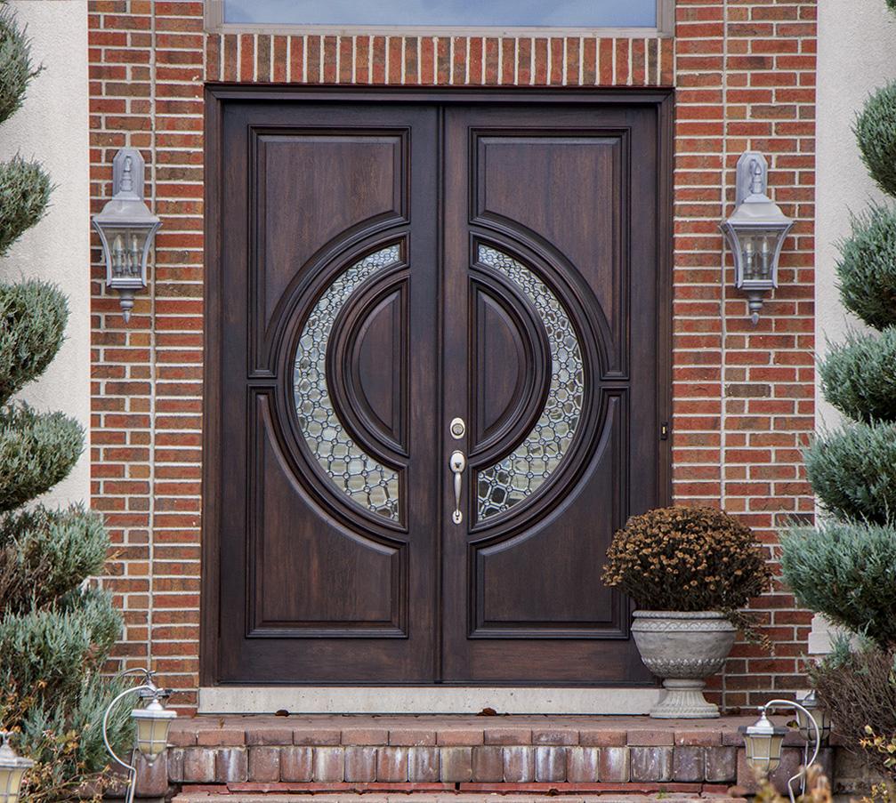 Smart Exterior Doors Mahogany Beveled Glass Tiffany 8 0 Exterior Doors Edmonton Exterior Doors Online houzz-03 Modern Exterior Doors