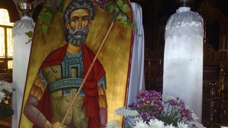 Εορτή του Αγίου Μηνά στον Ι.Ν. Αγίου Κοσμά Αιτωλού Ν. Φιλαδελφείας