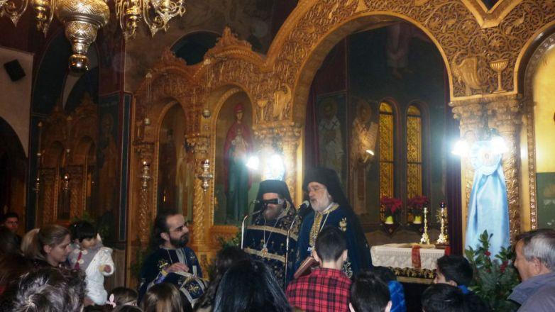 Με κατάνυξη η Εορτή της Αγίας Οικογενείας του Μ. Βασιλείου στη Ν. Φιλαδέλφεια