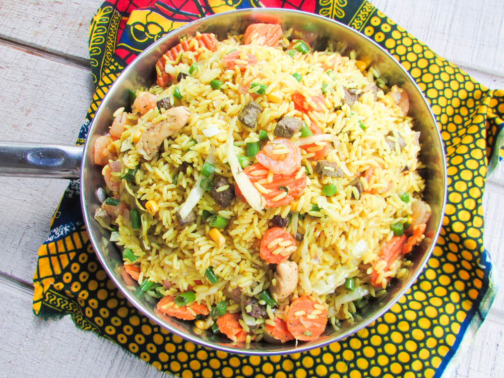 how to cook nigerian ground rice