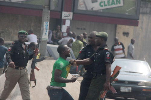 Human rights abuse by Nigeria police officers
