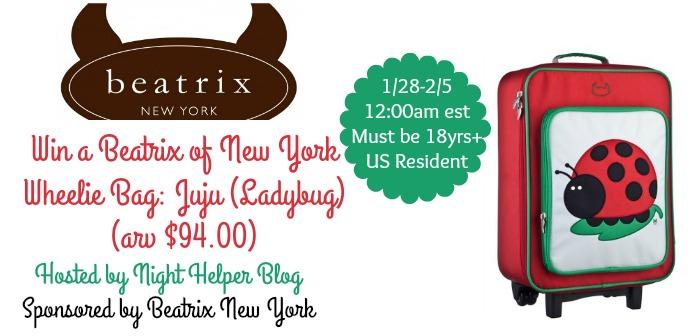 Beatrix of New York Wheelie Bag