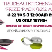 Trudeau Kitchenware Prize Package 5/7 US