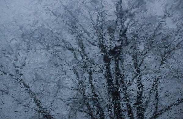 'Rainy Day through a Sunroof' by Emma Beatty Howells. 2nd place.