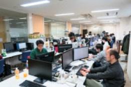 今はアクシスなどベンチャー企業4社が入居している(東京都渋谷区)