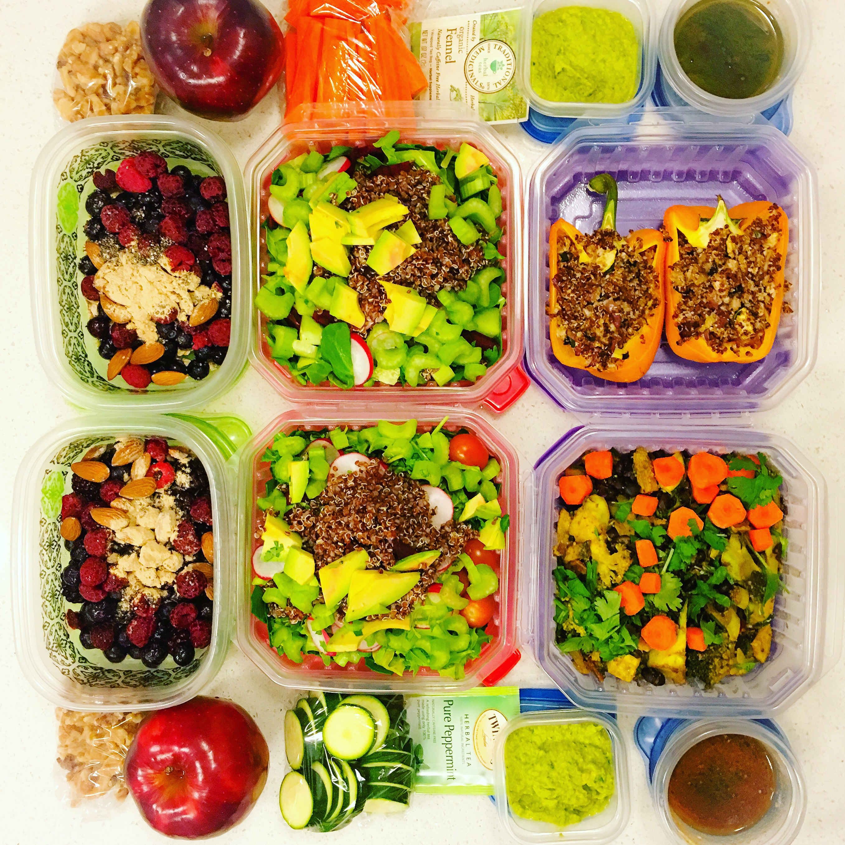 nikki-sharp-billy-bush-meal-prep