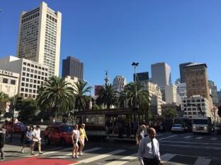 Wieder Union Square, wieder strahlender Sonnenschein