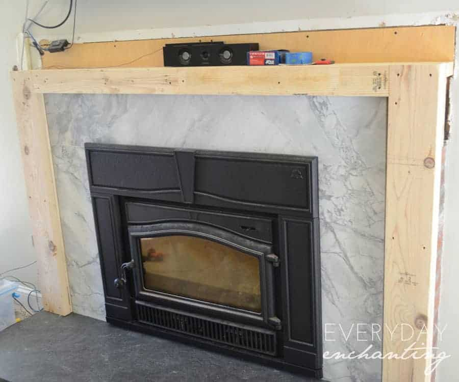 How To Makeover Your Brick Fireplace