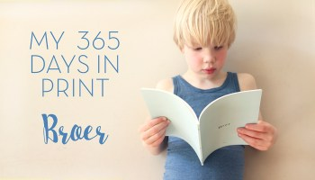 my 365 days in print