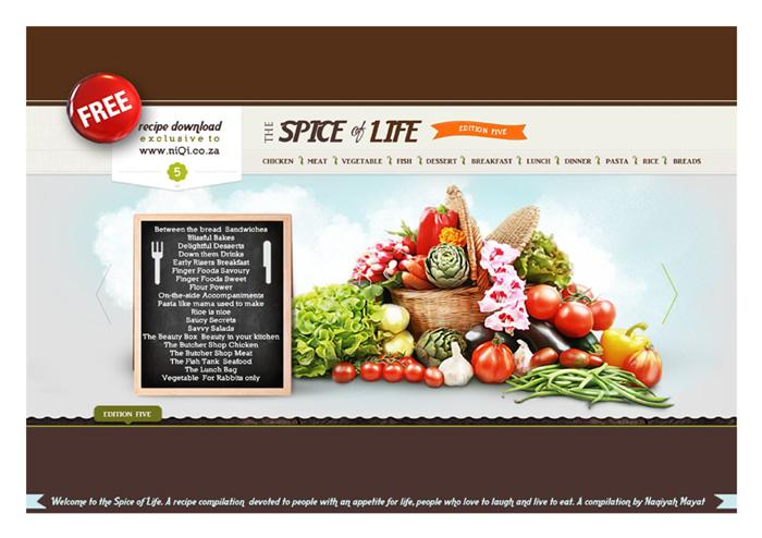 Spice of life com