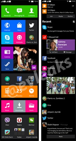 Nokia Android Phone 'Normandy' Software