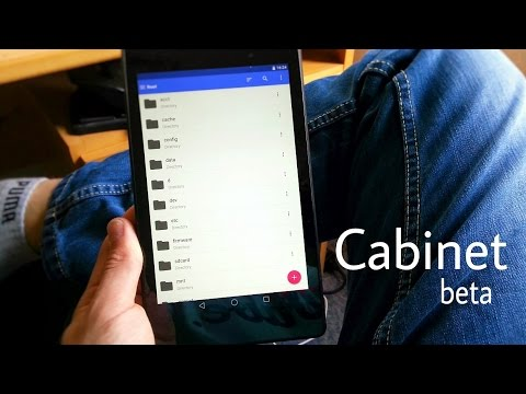 10 Material Design Android apps-cabinet