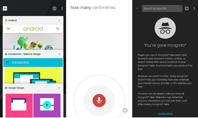 10 Material Design Android apps- google-chrome