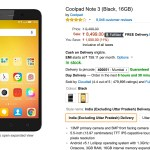 Coolpad Note 3 Gets a Rs 500 Price Cut in India
