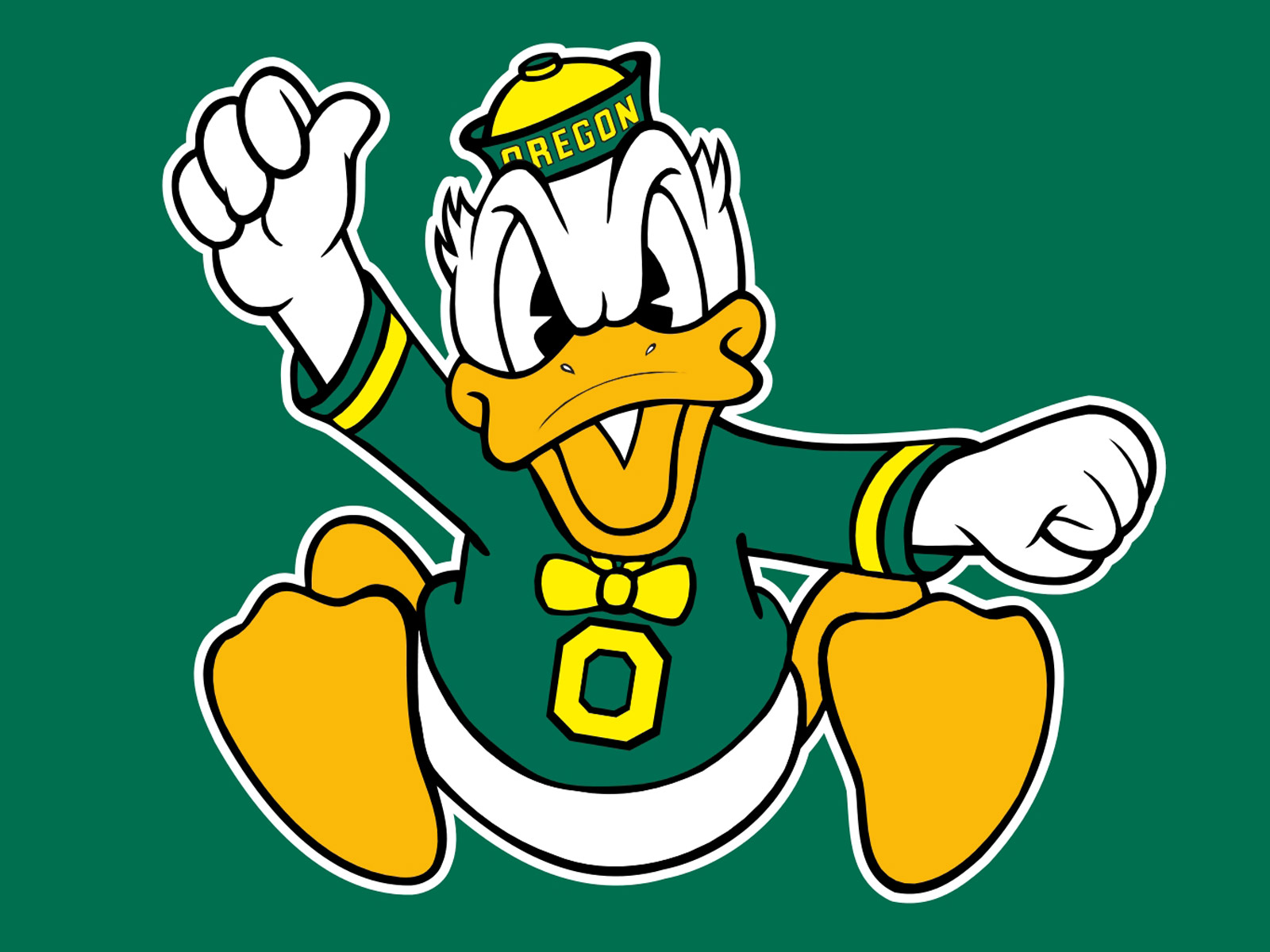 Free Oregon Ducks Football Logo Computer Desktop Wallpapers Pictures