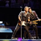 Bruce Springsteen and the E Street Band will perform at MetLife Stadium in August. Shown from left are Jake Clemons, Springsteen, Steven Van Zandt and Garry Tallent.