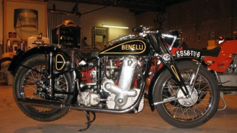 benelli 480 My cousin Stephen Pate opens Italian motorcycle shop in Windy City photo