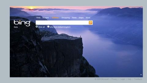 Bing, a new portal on porn
