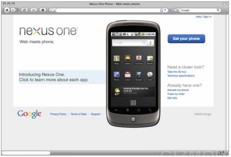 Nexus one Leaked Google Nexus One Phone to Launch Jan 5th photo