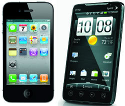 Apple v Android iPhone 4 vs. Android no clear winner but choices abound photo