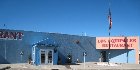 Los Equipales Restaurant, like Mexico City in the heart of Albuquerque.